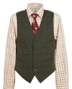Fife Country Jura Tweed Waistcoat
