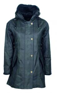 Oxford Blue Katrina Hooded Tartan - damoljerock