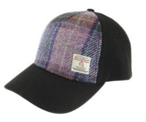 Tweedkeps - Harris Purple Tartan
