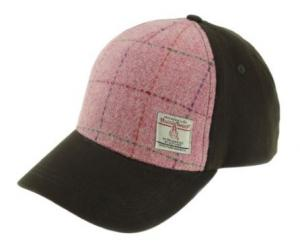 Tweedkeps - Harris Pink Tartan