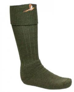 Bisley - Knästrumpa med fasan - grön