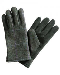 Hoggs Albany - damhandskar i tweed