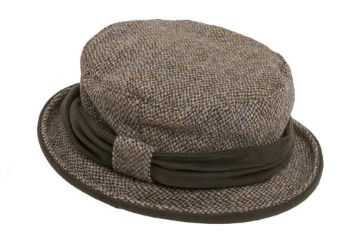 Harris Tweed Ladies Country Hat
