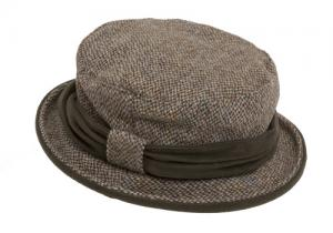 Harris Tweed Ladies Country Hat
