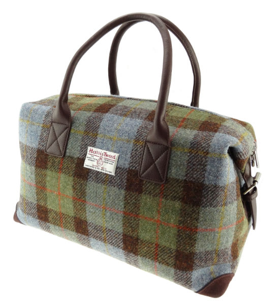 Glen Appin Harris Tweed Holdall Travelbag