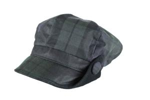 Oxford Blue Women's Lilly Tartan Wax Hat