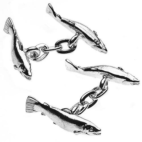 Manschettknappar - silverpläterade