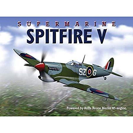 Metallskylt - Spitfire