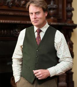 Fife Country Moleskin Waistcoat