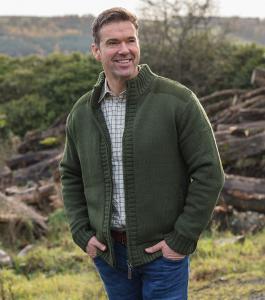 Hoggs Orkney - stickad jacka
