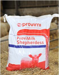 Shepherdess mjölkersättning
