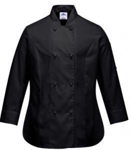 Portwest Rachel - långärmad kockskjorta