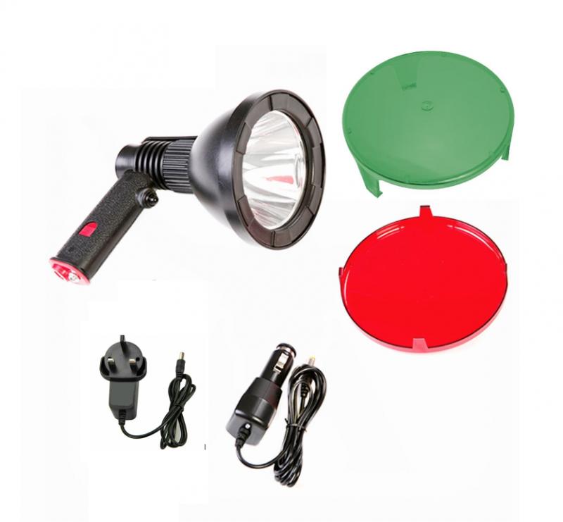 Cree 125 - Laddningsbar handlampa