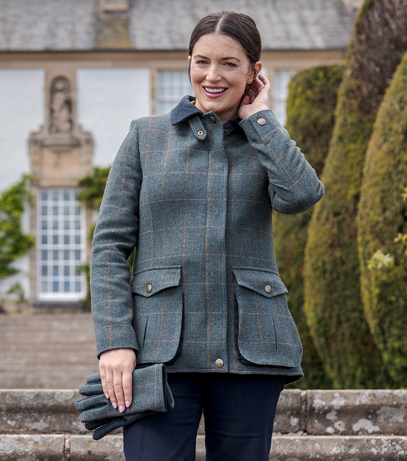 Hoggs - Sherborne Ladies Lambswool Field Coat