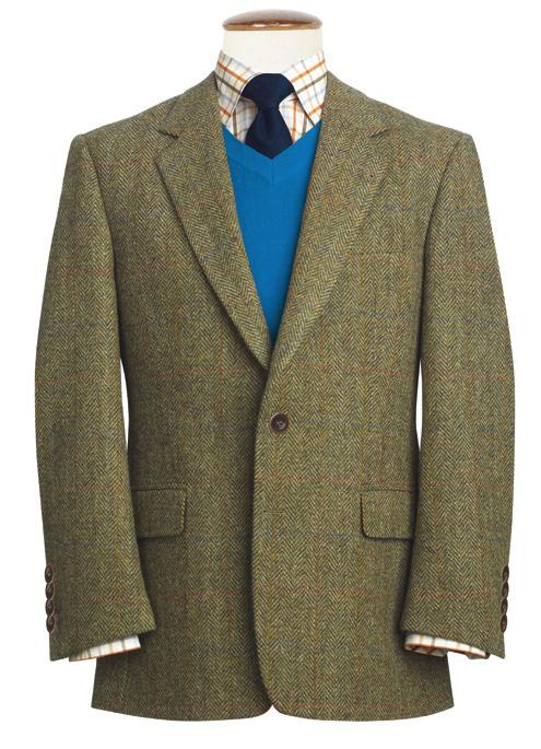 Harris Tweed Stromay - tweedkavaj