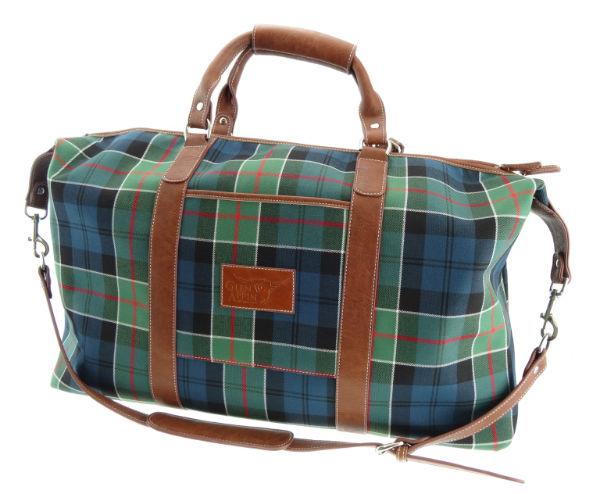 Glen Appin Travel Bag Tartan Tweed