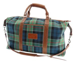 Glen Appin Travel Bag Tartan Tweed