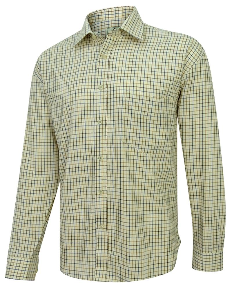 Hoggs Tattersallskjorta - Brown & Gold