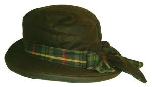 Oxford Blue Thelma waxed hat