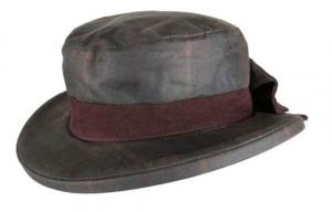 Oxford Blue Thelma Tartan waxed hat