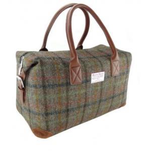 Glen Appin Harris Tweed Holdall Travelbag