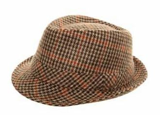 Hawkins Trilby - mixed tweed