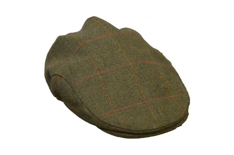 Walker & Hawkes Windsor - tweedkeps flat cap