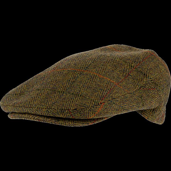 Jack Pyke Wool Tweed Flat Cap