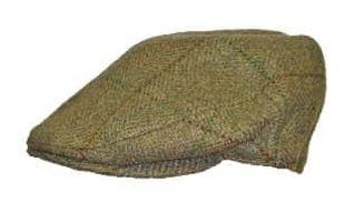 Hawkins Tweed Flat Cap - dam