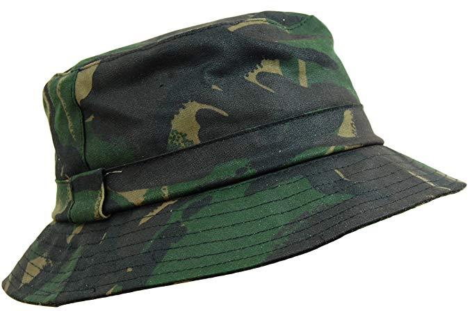 Game Waxed Bush Hat - kamo