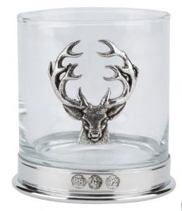 Bisley Whiskyglas - kronhjort