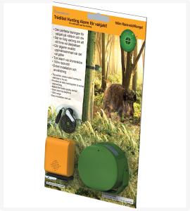 Trådlöst hunting alarm