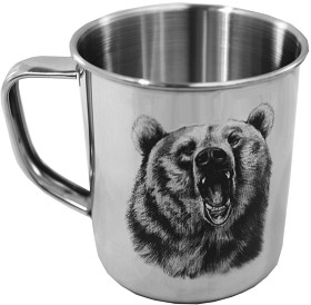 Luffarmugg björn motiv