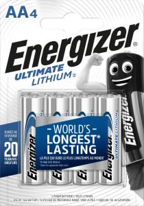 Energizer Lithium AA 4-p