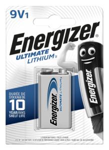 Energizer Lithium 9V 1-p