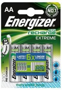 Energizer Recharge 2300mAh AA 4-p