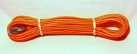 Alac spårlina gjuten 10m x 4mm orange