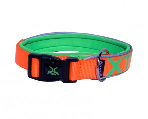 Halsband TRM orange 55-60cm