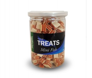 Treats mini fish 200g