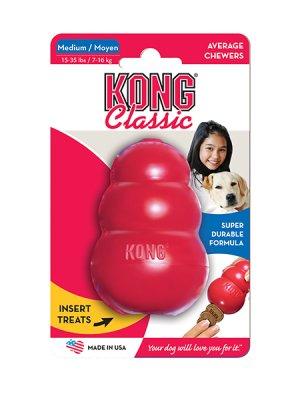 Kong Classic M röd
