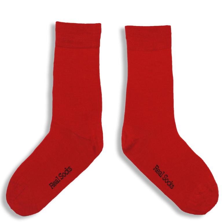 Real Socks Burning chilli 40/43