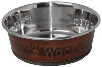 Metalskål Woof 250ml