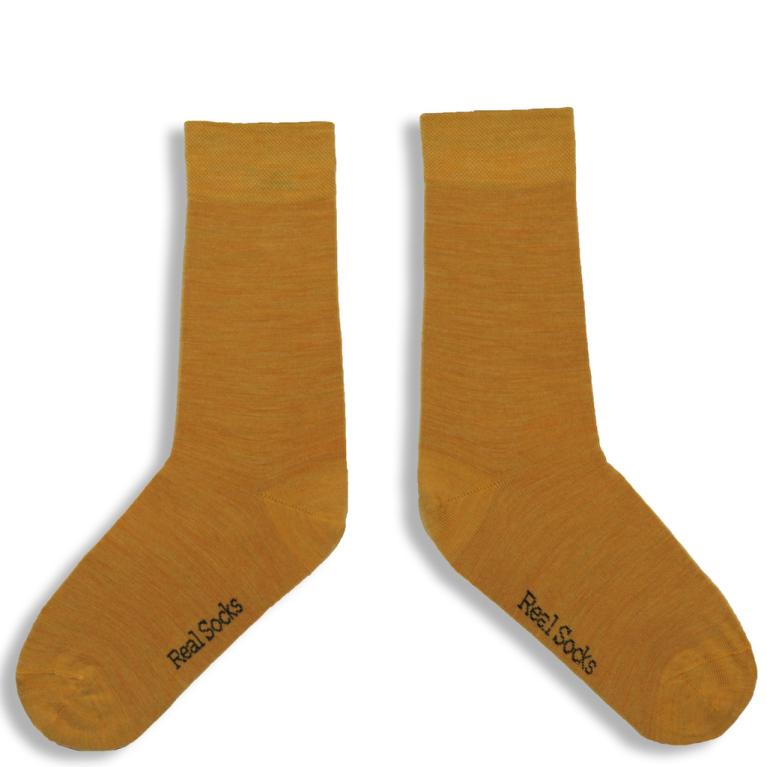 Real Socks Holy mustard 36/39