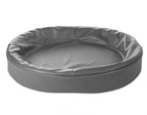 Bia Bed Oval 80x100cm grå