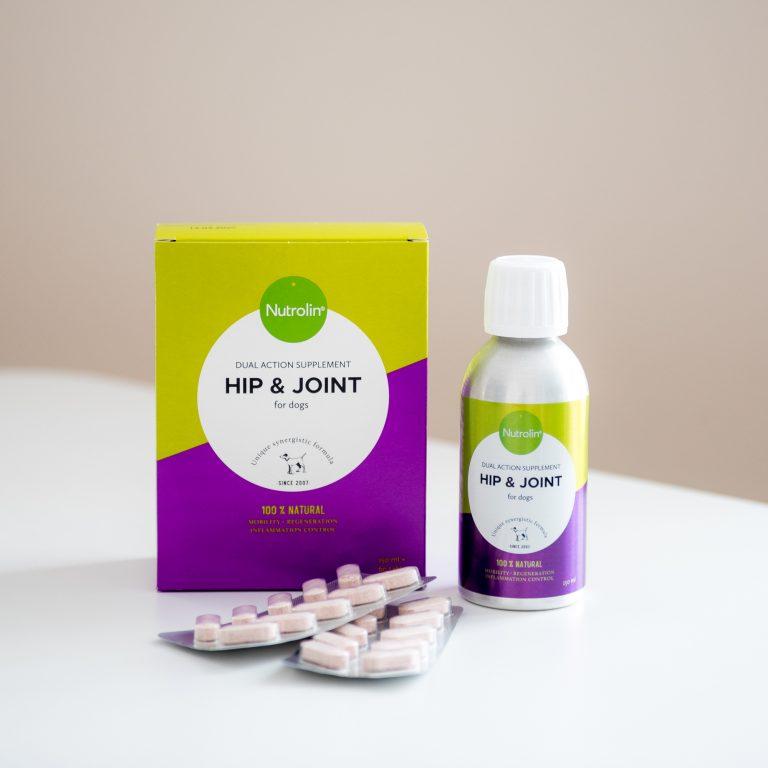Nutrolin Hip & Joint 150ml + 60tbl