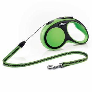Flexi New Comfort S, 5m cord, grön