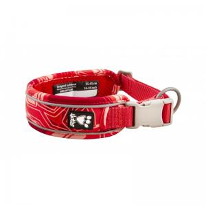 Hurtta Weekend warrior collar 25-45cm, coral camo
