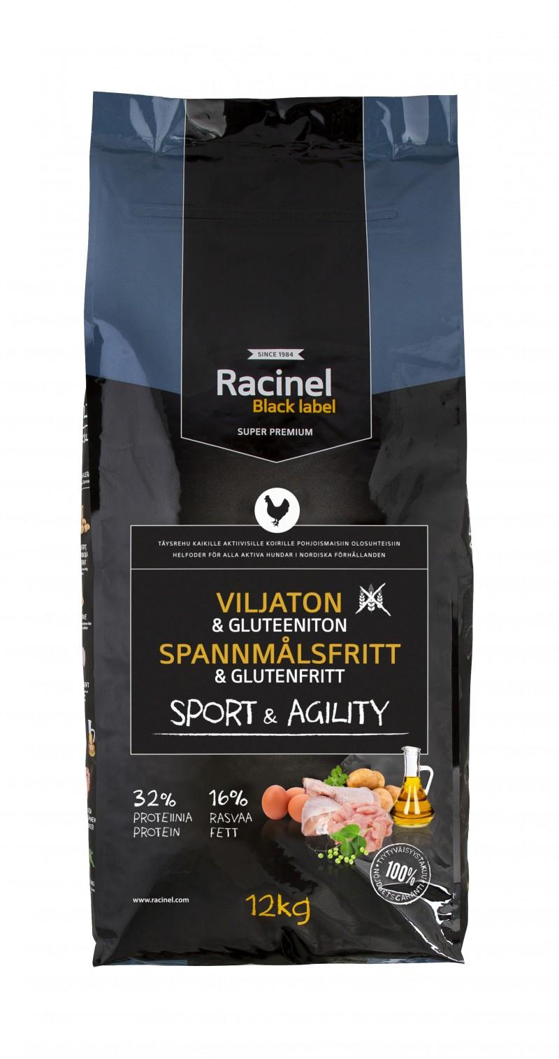 Racinel Black Label Sport&Agility, 12kg
