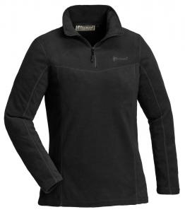 TIveden fleece sweater M, black dam