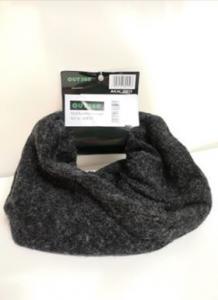 Neckscarf varm anthracit